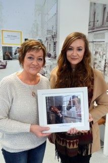 XXjob 28/01/2016 NEWS Geraldine Dennehy, Millstreet, Co, Cork, runner-up in the Irish Examiner Readers Photography Competition 2015, with her daughter Sarah Dennehy, at the award ceremony, Irish Examiner offices Oliver Plunkett St, Cork. Picture: Denis Scannell